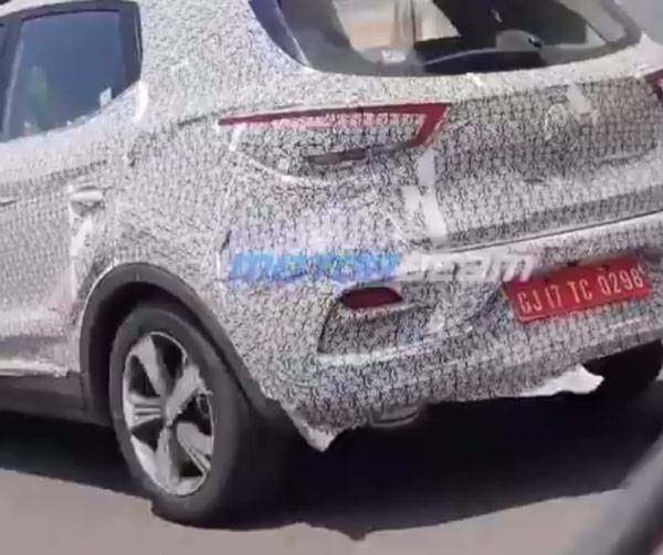 MG ZS Petrol Spied Testing: MG ZS Petrol spotted in India during test, this SUV will compete