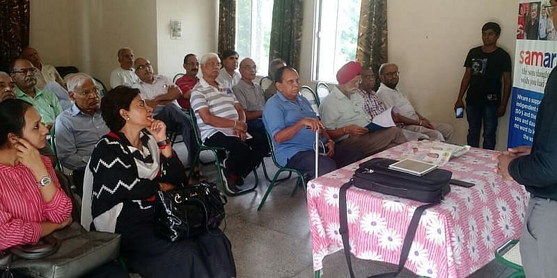 Samarth conducts session with an orthopedic doctor for senior citizens
