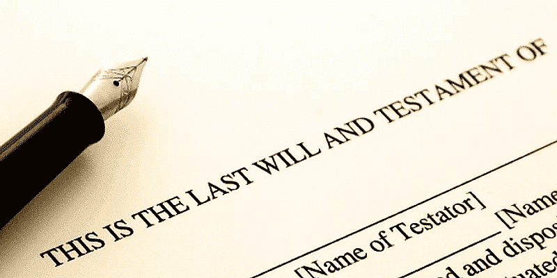 Writing a will is extremely important, especially when life shows you unexpected events.