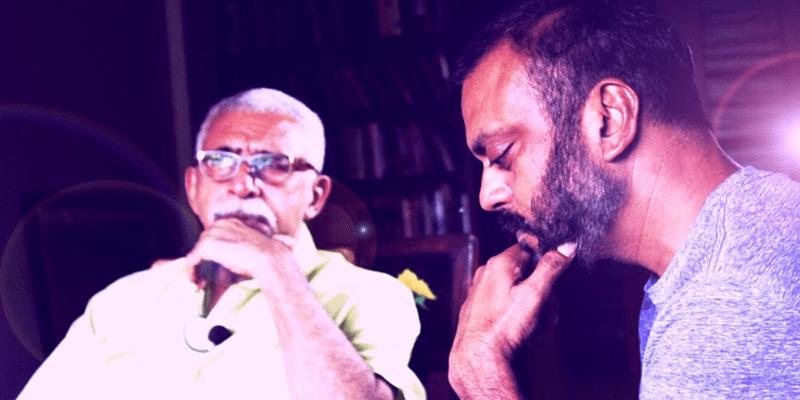 Manish Gupta with well-known actor Naseeruddin Shah