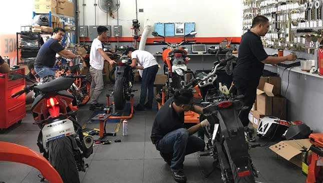 Bike Repairing Business