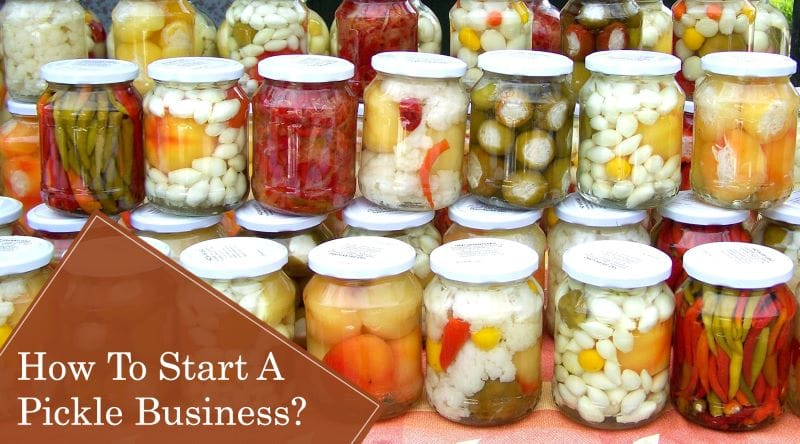 How To Start Pickle Manufacturing Business?