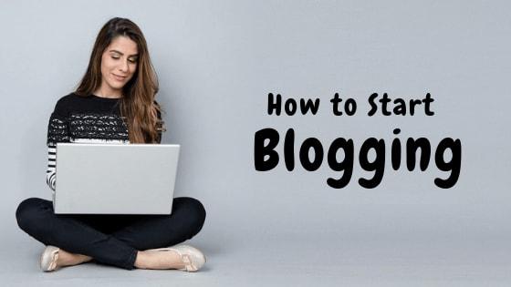 Start Blogging in just 7 steps