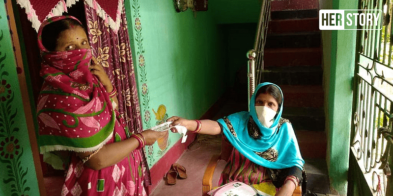 Lopamudra Mohanty, 28, of Pokhriapada village in Odisha joined as an electricity sister on 10, 2020