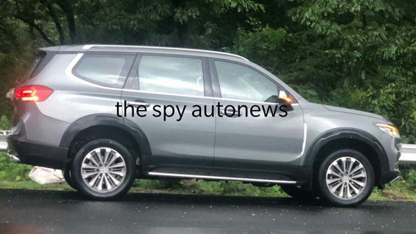 MG Gloster Spied Testing: MG Gloster Testing
