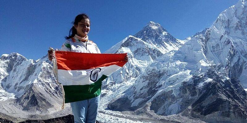 Megha Parmar, Mountaineer