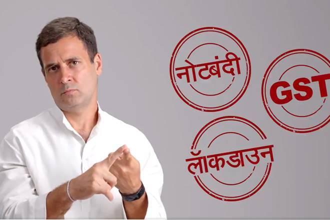 rahul gandhi arthvyavastha ki baat indian economy informal sector