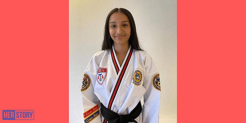 Raina Singh teaches taekwondo to girls who live in slums