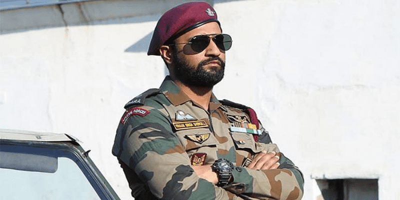 Actor Vicky Kaushal in a scene from the film Uri - The Surgical Strike (2019) (Photo courtesy: IndiaToday)