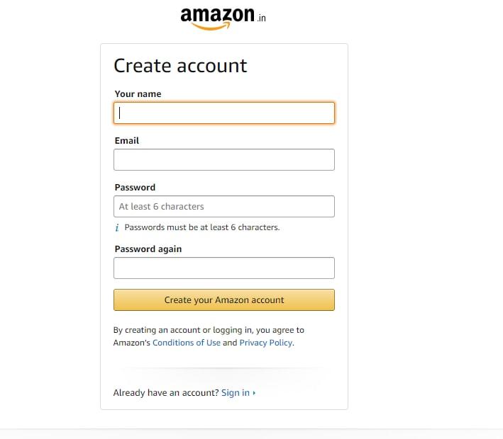 affiliate create account