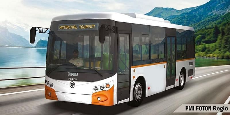 PMI Electro Mobility Solutions Private Limited buses.