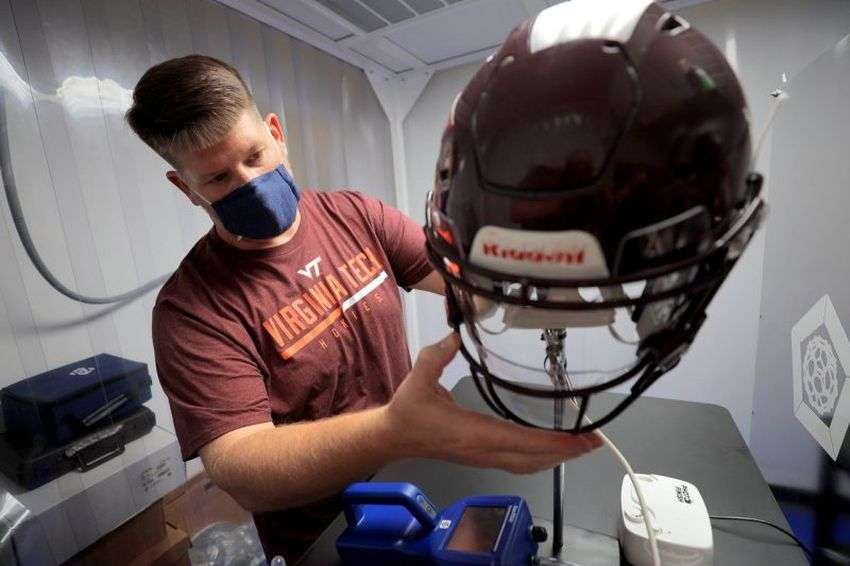 Medical Invention: This technique will protect players wearing helmets from corona virus