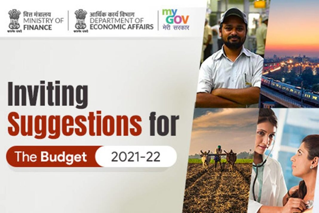budget 2021-22, become a part of Union Budget 2021, suggestions for budget 2021-22