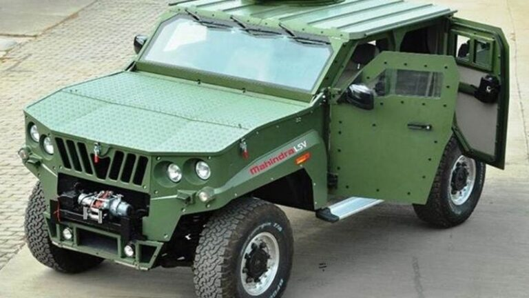 Now Mahindra will make this special vehicle for the Indian Army, weapons will be set up on the vehicle for enemies