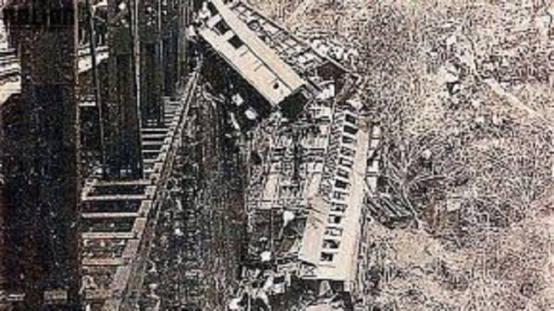 People who went to participate in religious festivities, but returned corpses, packed train collapsed under bridge, 248 passengers died