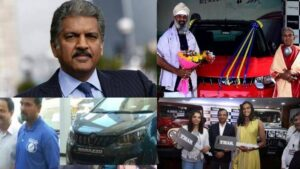 From Marazzo to THAR, Anand Mahindra has gifted crores of cars so far, know who's luck shone