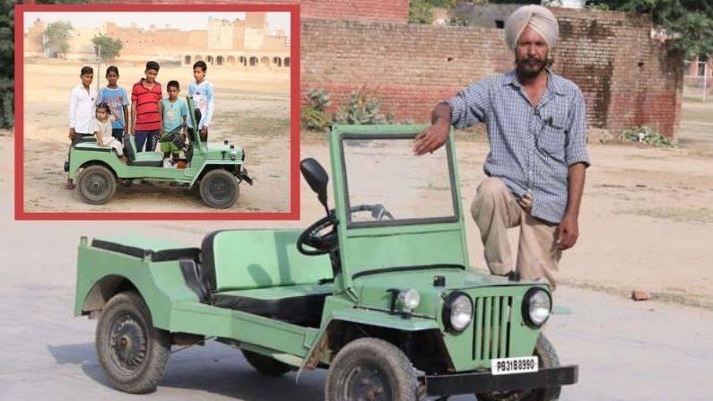 Honda Activa engine and Maruti Suzuki 800 parts made using world's smallest Jeep, watch video
