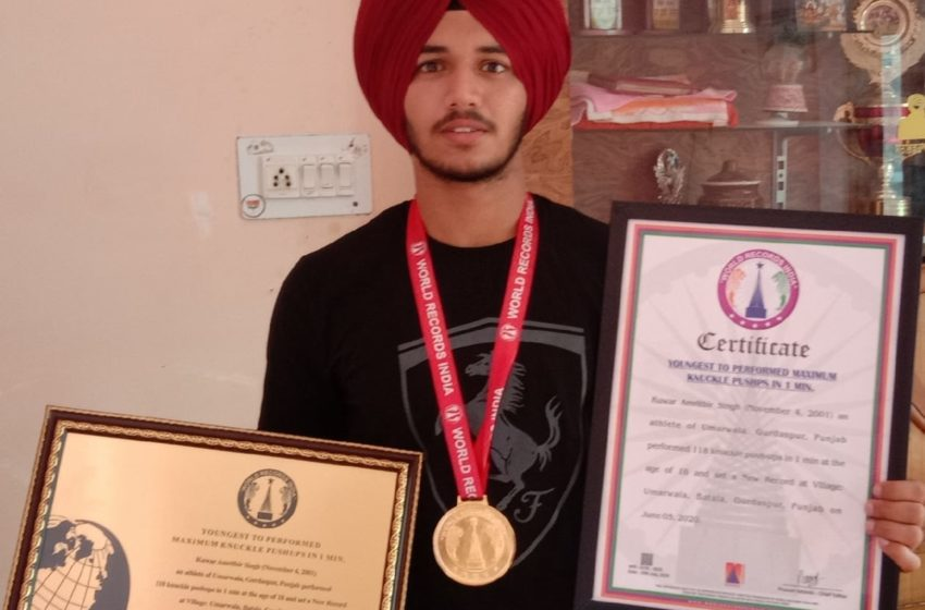 YOU ARE THE ONLY HERO OF YOURSELF 'KUWAR AMRITBIR SINGH'