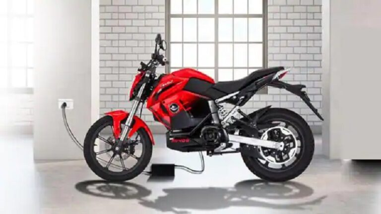 Booking of Revolt RV400 bike is starting from 12 o'clock today, you will get a discount of Rs 28,200 on buying