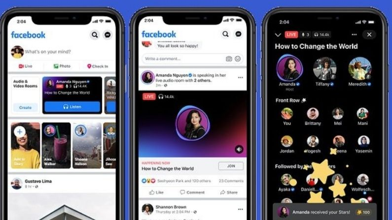 Facebook launches podcasts and live audio streams to compete with Clubhouse, know what will be special for you