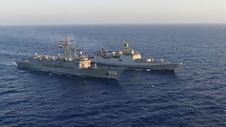 India's INS Tabar reached Egypt, both navies did maritime exercises together, set an example of friendship