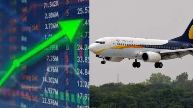 Jet Airways' stock jumped sharply due to approval from NCLT, upper circuit hit