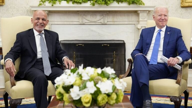Joe Biden meets Afghanistan President Ashraf Ghani, America will give economic-political help even after the withdrawal of troops