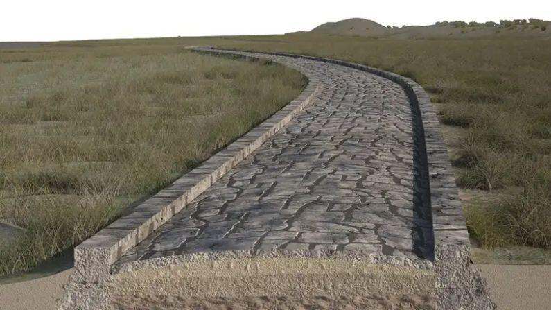 A network of roads is laid under Venice, a 2000 year old road of the Roman Empire found under the sea