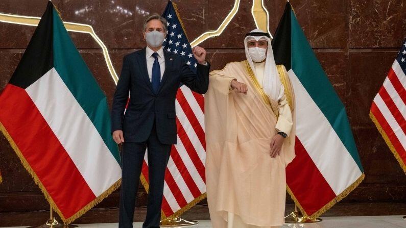 Afghan citizens who help America will be settled in Kuwait?  Antony Blinken speaks to Foreign Minister Al-Sabah