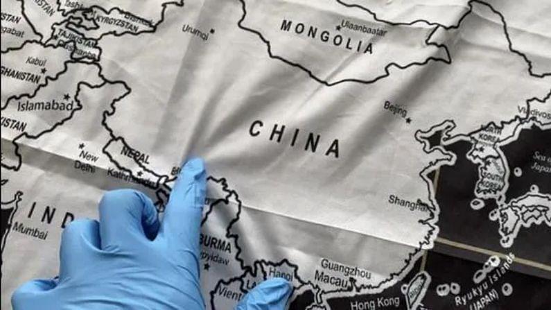 Aksai Chin and Arunachal Pradesh were shown as India's part, 'sizzling' China got chilli, seized the map