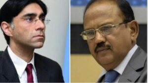 Big claim of Pakistan's NSA Moeed Yusuf, secret meeting with India in February, also said on meeting with Ajit Doval