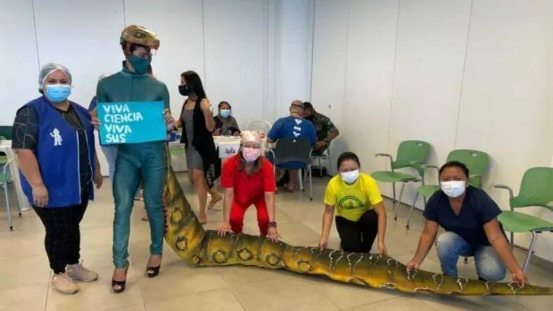 Brazil: Jair Bolsonaro's flying joke, people who came to get vaccination become 'crocodile' on the statement of vaccine
