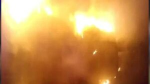 China: Another horrific incident of fire in China, 14 dead, 26 others scorched in warehouse fire