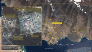 China's snowfall: A few steps away from Pangong Lake, the dragon is standing with deadly weapons, satellite photos revealed