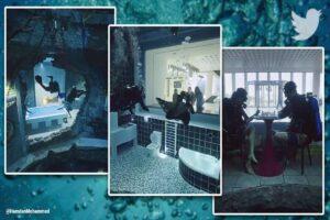 Deep Dive Dubai world biggest pool open to the public Watch epic video