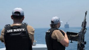 Fatal attack on Israel's oil tanker in Arabian Sea, US Navy said - the ship was targeted by drone