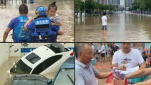 Flood in China: Heavy flood continues to wreak havoc in China, death toll rises to 51