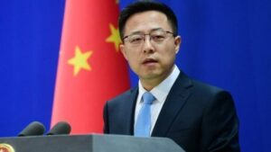 In the hacking case, China told America to refrain from throwing 'mud', accusing allies of collusion