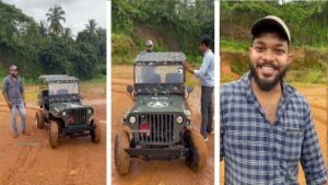 Jeep made in just 70 thousand by using junk and engine of Bajaj Pulsar 180, you will also say wow after watching VIDEO!
