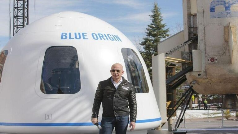 Jeff Bezos will fly to space in just a short while, watch live streaming here