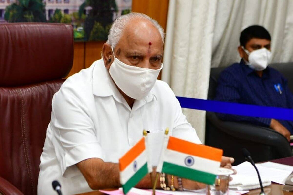 Karnataka CM BS Yediyurappa decides to resign announces at a programme of celebration of 2 years of his government will meet Governor after lunch