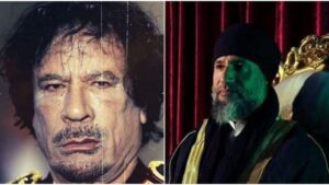 Libya: Not dead, alive, son of dictator Gaddafi, who threatened to 'shed rivers of blood', came to the world after years