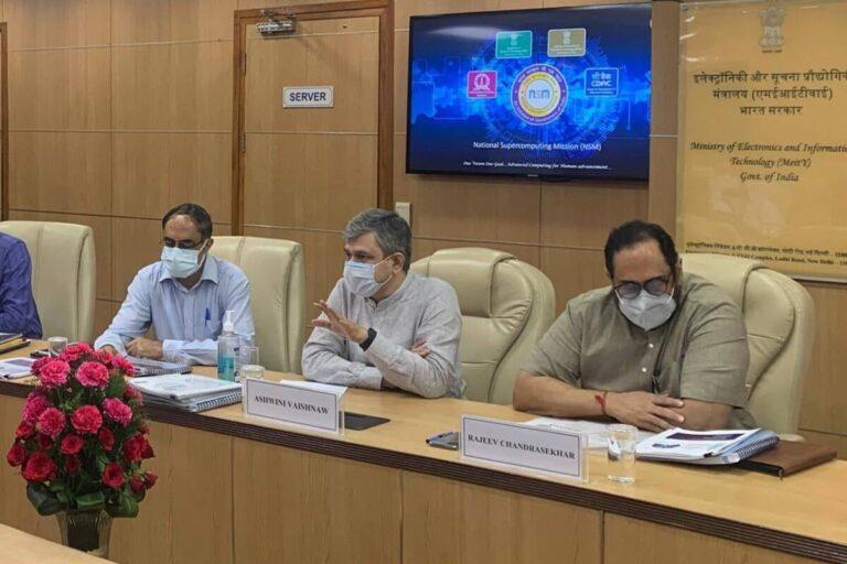 new IT minister ashwini vaishnav joins koo