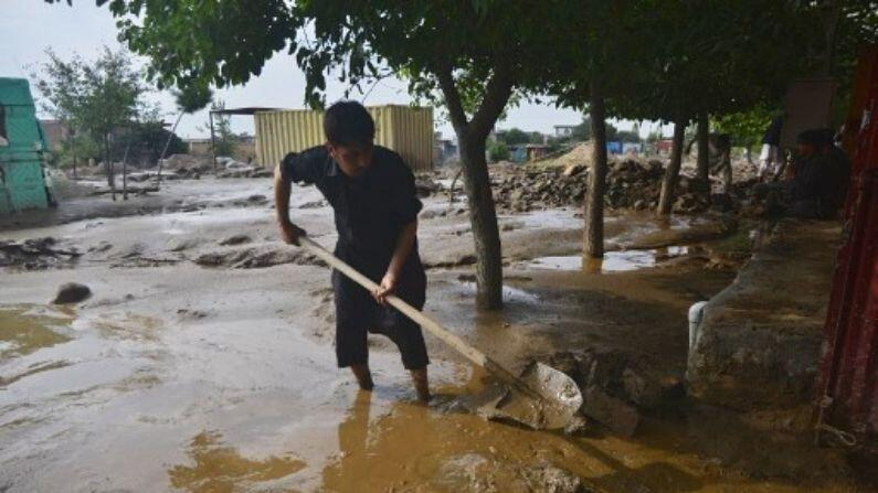 Now nature's attack on Afghanistan!  80 houses destroyed due to flood 150 people missing, 40 dead