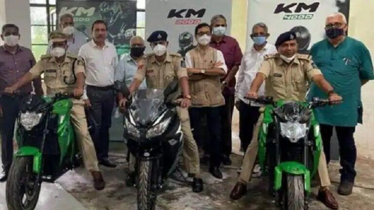 Now the police of this state will run these two indigenous electric bikes, will be charged in minutes and will get a range of 150KM