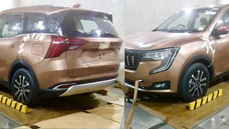 Photos of Mahindra XUV700 surfaced before launch, this is special in the vehicle, know everything