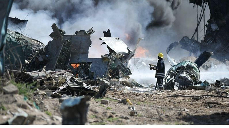 Plane Crash: Trainee pilot lost control and two Japanese planes collided in mid-air, hundreds of people died