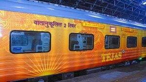 Railways replaces Rajdhani Express with smart Tejas coaches, equipped with these hi-tech facilities including automatic doors