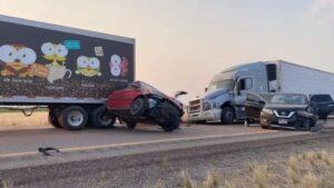 Sand Storm in Utah: 20 vehicles collided in Utah, seven people killed