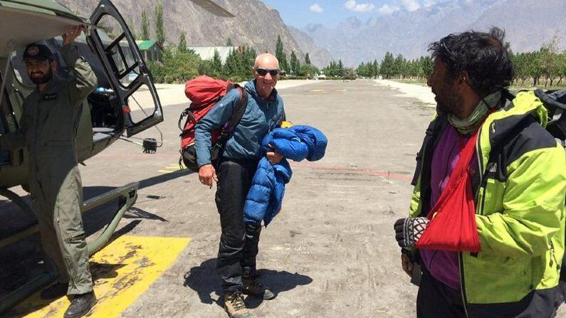 Traumatic accident while climbing the world's second highest peak K2, famous Scottish climber dies